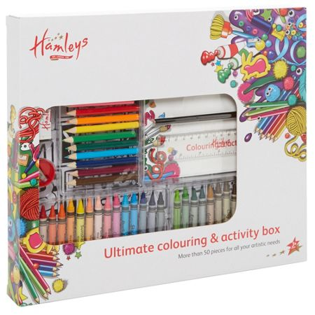 Hamleys Colouring activity box