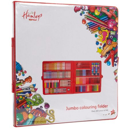Hamleys Jumbo colouring folder