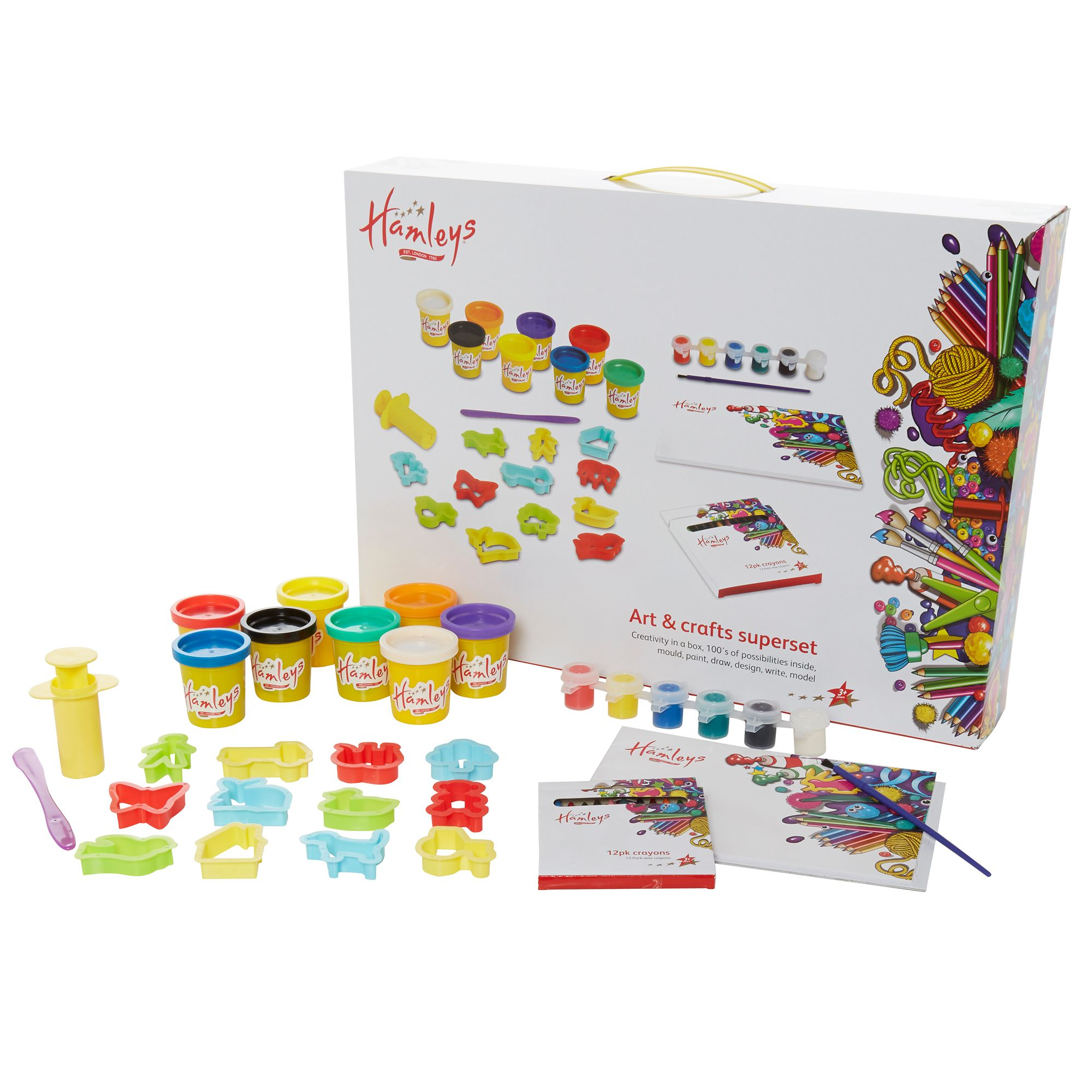Hamleys Arts & crafts super set
