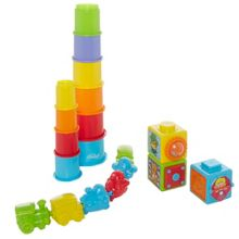 Action stacking blocks