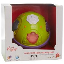 Music & light activity ball