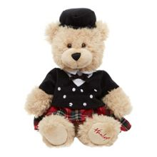 Hamleys Scotsman Teddy Bear 18cm