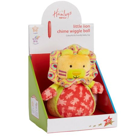 Hamleys Little lion chime wiggle ball