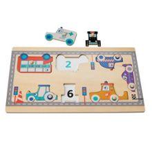Hamleys Wooden Vehicles Puzzle