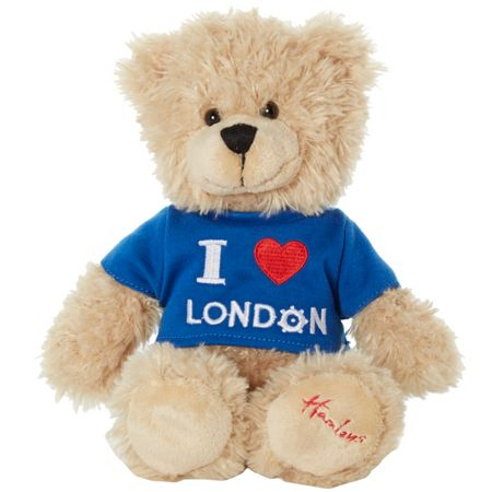 Hamleys I love london bear