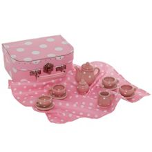 Rosie ragdoll dolly tea set