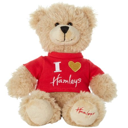 Hamleys I love hamleys bear