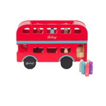 Hamleys London Bus With Passengers