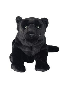 Hamleys Prisha Black Panther Soft Toy