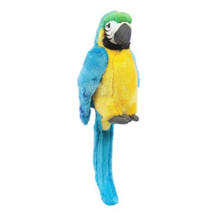 Hamleys Pepper Blue Parrot Soft Toy