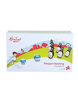 Inflatable Penguin Bowling