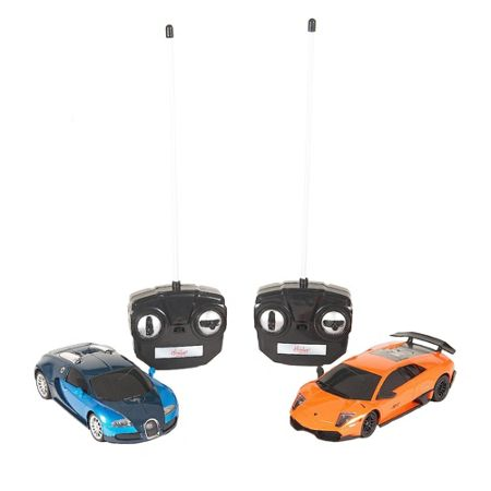 Hamleys RC Twin Pack Lamorghini Murcielago & Bug