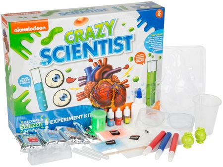 Nickelodeon Crazy Scientist Experiment Kit