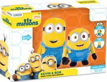 Minions Movie Make Your Own Kevin & Bob Soft Toy