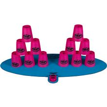 Speed School Stacking Cups Game - Pink