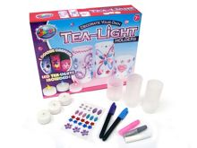 Tea-light holders decoration playset