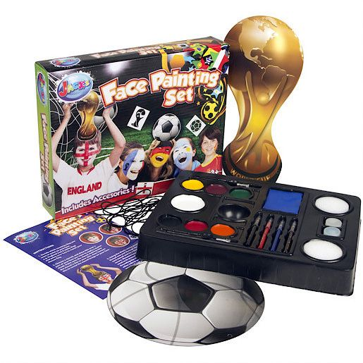 Football face painting set