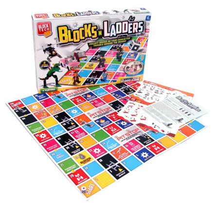 Block Tech Blocks `n ladders building board game
