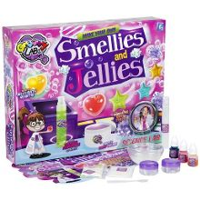 Make your own smellies and jellies lab