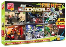 Block Tech 6-in-1 blockworld mega box 609 pieces