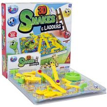 Jacks Snakes and ladders 3d board game