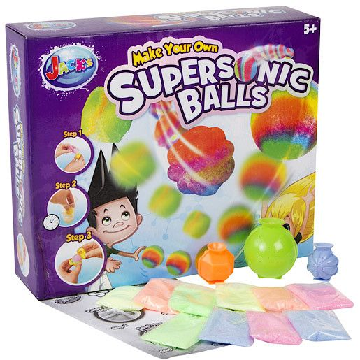 Jacks Make your own supersonic balls