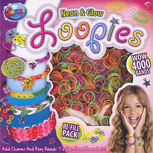 Loopies Refill Pack - 4000 Loom Bands