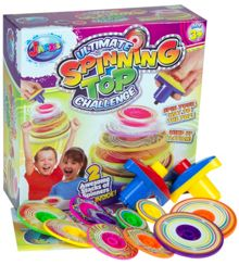 Ultimate spinning tops challenge game