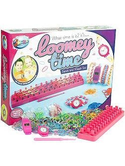 Loomey time set with 100 bands