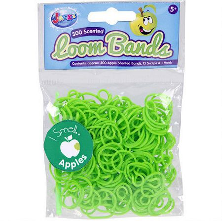 Jacks Apple Scented Loom Bands Refill Pack