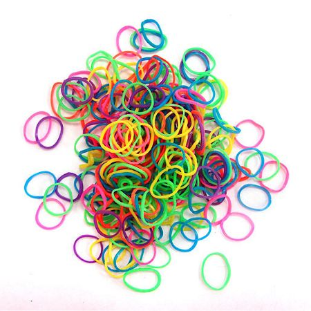 Jacks Neon Bracelet Refill Pack - 250 Loom Bands