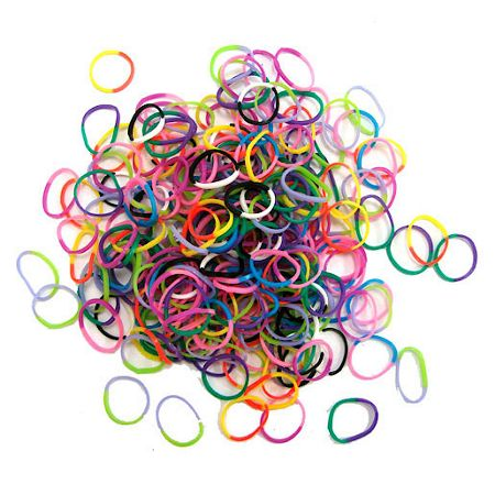 Jacks Rainbow Bracelet Refill Pack - 250 Loom Bands