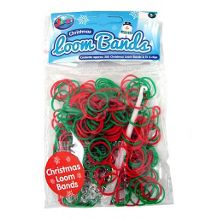 Jacks Christmas Bracelet Refill Pack - 250 Loom Bands