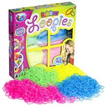 Jacks loopies rainbow bracelet refill pack - 4000