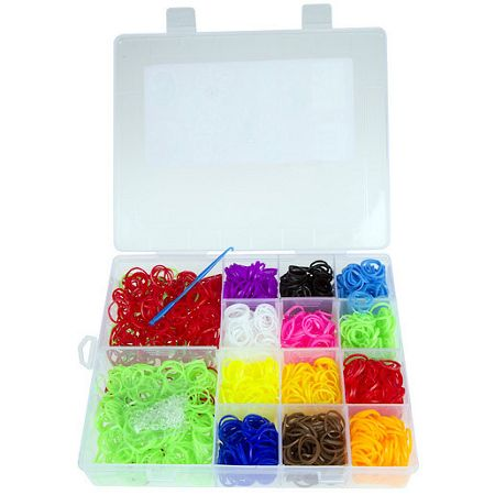 Jacks Loopies 2000 assorted loom bands