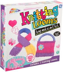 Grafix Knitting Looms Kit