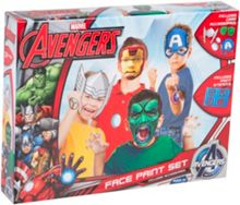The Avengers Face Paint Set with Accessories