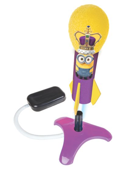 Minions Movie King Bob Air Blast Rocket Launcher