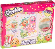 Shopkins Gemstone Picture Craft Set