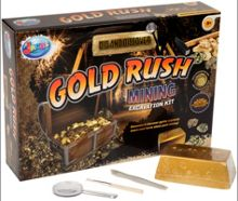 Jacks Gold Rush Mining Excavation Kit