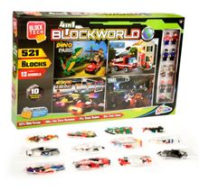 Block Tech 4-in-1 Blockworld Construction Set