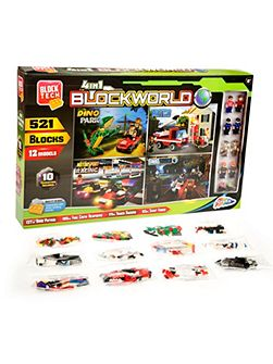 4-in-1 Blockworld Construction Set