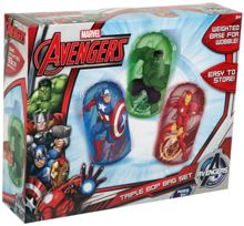 The Avengers Avengers Mini Bop Bag Triple Set