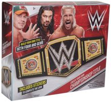 WWE Create Your Own Championship Title