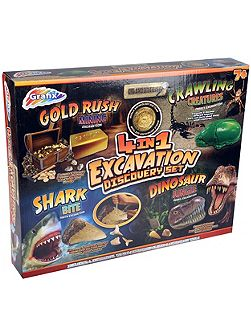 4-in-1 Excavation Discovery Set