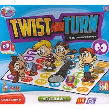 Twist and turn balance game