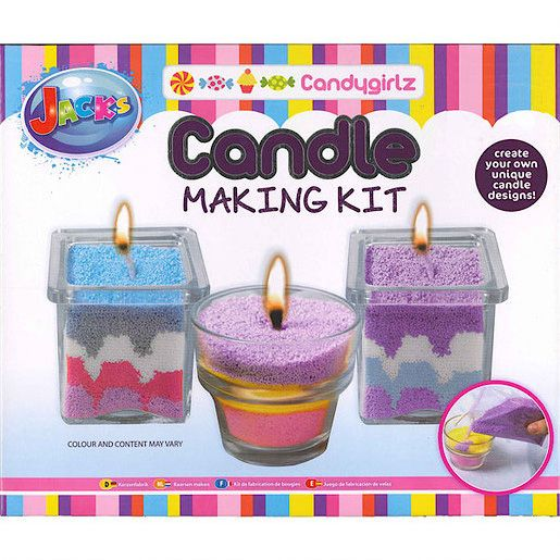 Candygirlz Candle Making Kit