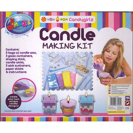Jacks Candygirlz Candle Making Kit