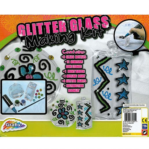 Glitter Glass Making Kit