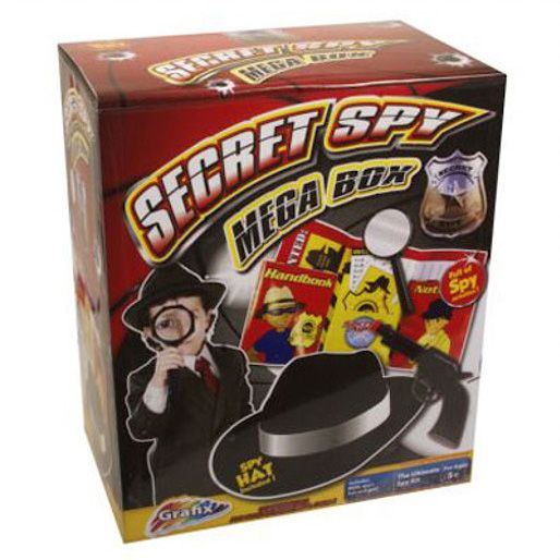 Grafix Secret Spy Mega Box